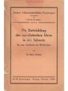 Die Entwicklung der sozialistischen Ideen in der..