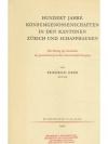 Hundert Jahre Konsumgenossenschaften in den Kant..