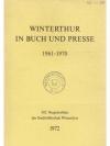 Winterthur in Buch und Presse 1961 - 1970