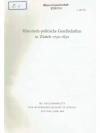 Historisch-politische Gesellschaften in Zürich 1..