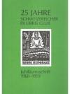 25 Jahre Schweizerischer Ex Libris Club
