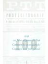 1949 100 Jahre eidgenössische Post