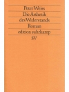Die Ästhetik des Widerstands. 3 Bände in 1 Band