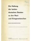 Die Haltung der beiden deutschen Staaten zu den ..