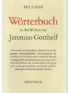 Wörterbuch zu den Werken von Jeremias Gotthelf