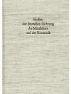 Studien zur deutschen Dichtung des Mittelalters ..