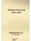Ritterhaus-Vereinigung Uerikon-Stäfa. Jahresberi..