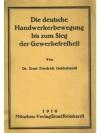 Die deutsche Handwerkerbewegung bis zum Sieg der..