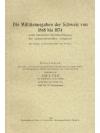 Die Militärausgaben der Schweiz von 1848 bis 1874