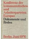 Konferenz der kommunistischen und Arbeiterpartei..