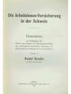 Die Arbeitslosen-Versicherung in der Schweiz