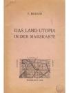 Das Land Utopia in der Marskarte