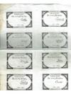 Druckgraphik   -   8 Assignats de cinq livres