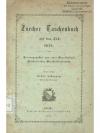 Zürcher Taschenbuch auf das Jahr 1878