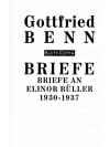 Briefe an Elinor Büller 1930-1937