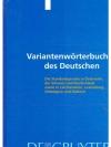 Variantenwörterbuch