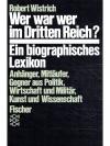 Wer war wer im Dritten Reich