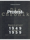 Die Protest-Chronik. Register 1949 bis 1959