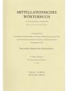 Mittellateinisches Wörterbuch f - fero