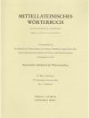 Mittellateinisches Wörterbuch fero - florificatio