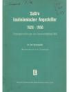 Saläre kaufmännischer Angestellter 1928 - 1950
