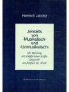 """Jenseits von """"Musikalisch"""" und """"Unmusikalisch"""""""