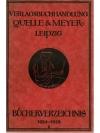 Bücherverzeichnis  Quelle & Meyer