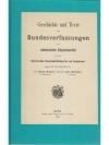Geschichte und Texte der Bundesverfassungen