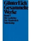 Gesammelte Werke Band I