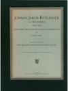 Johann Jakob Rütlinger von Wildhaus (1790 - 1856)