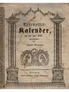Appenzeller-Kalender, auf das Jahr 1845