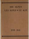 Die Alpen - Les Alpes - Le Alpi 1941