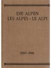 Die Alpen - Les Alpes - Le Alpi 1948