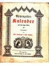Appenzeller-Kalender auf das Jahr 1864