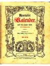 Appenzeller Kalender auf das Jahr 1926