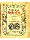 Appenzeller Kalender auf das Jahr 1902