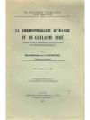 La Correspondance d' Erasme et de Guillaume Bud�
