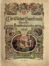Christlicher Hausfreund. Schweizer Familienkalender 1920