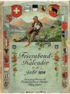 Feierabend Kalender f�r das Jahr 1918