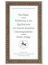 Einführung in die Quellenkunde zur neueren deutschen Literaturgeschichte