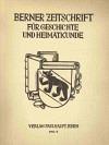 Berner Zeitschrift für Geschichte und Heimatkunde 1962