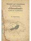"""Wirtschaft und Lebenshaltung im schweizerischen """"Hirtenland"""" am Ende des 18. Jahrhunderts"""
