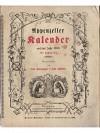 Appenzeller Kalender auf das Jahr 1888
