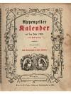 Appenzeller Kalender auf das Jahr 1900