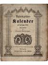 Appenzeller-Kalender auf das Jahr 1848
