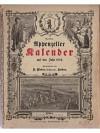 Neuer Appenzeller Kalender auf das Jahr 1884