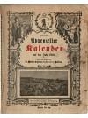 Appenzeller Kalender auf das Jahr 1910