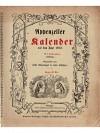 Appenzeller Kalender auf das Jahr 1912