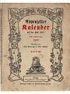 Appenzeller Kalender auf das Jahr 1917