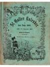 St. Galler Kalender für das Jahr 1909